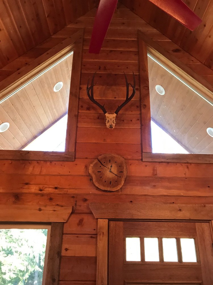 Gold Valley Log Homes Project in La Grande, Oregon